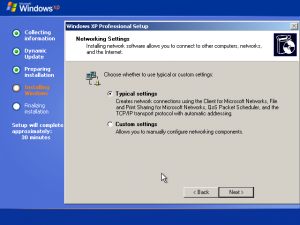 25) Network Settings Dialog: (Image 3.1)
