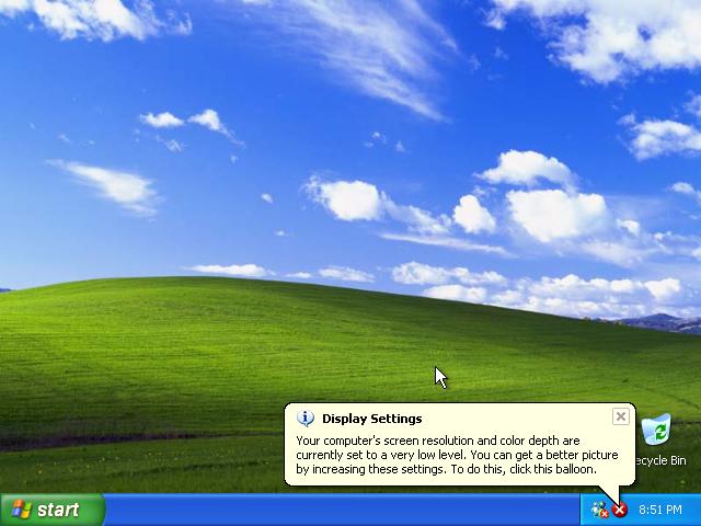 36) Display Settings Pop-up: (Image 4.6)