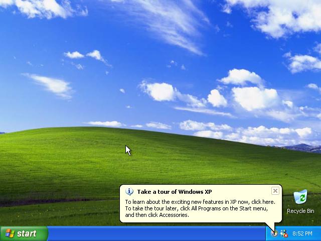 37) Windows XP tour: (Image 5.1)
