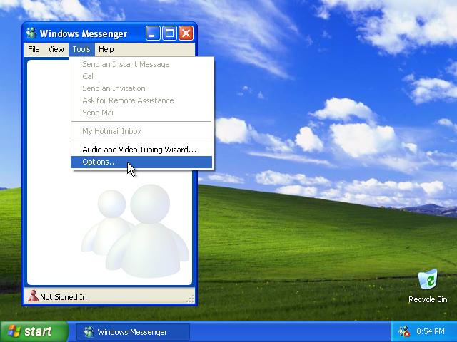 41) Windows Messenger Tools: (Image 5.5)
