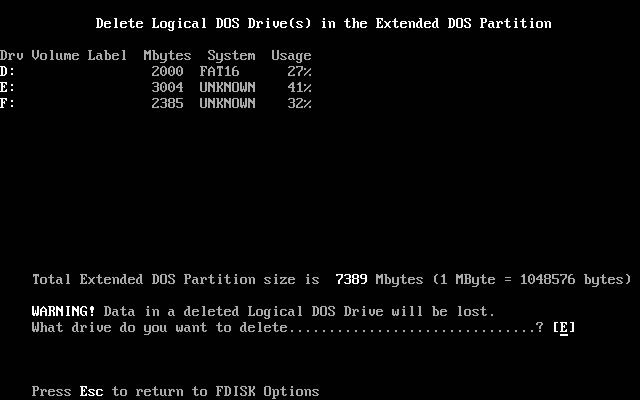 FDISK Usage Guide Image 1.6
