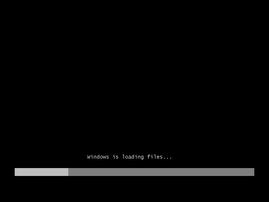1) Shall we begin? (Windows Vista Install Guide Image 1.1)