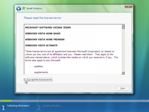 7) License Agreement: (Image 2.2)