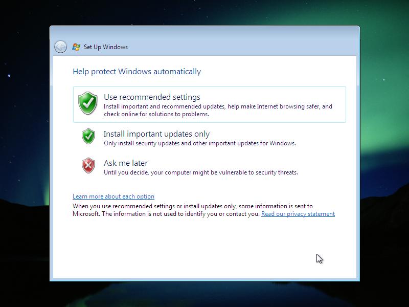 17) Updates: (Windows Vista Install Guide Image 4.2)