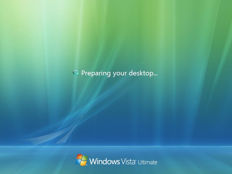 23) Desktop Setup: (Windows Vista Install Guide Image 5.3)
