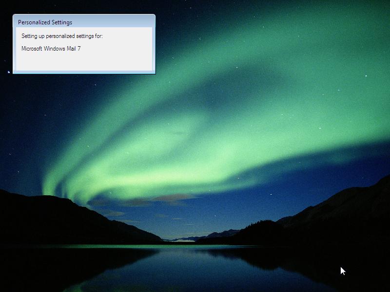 24) Account Profile: (Windows Vista Install Guide Image 5.4)