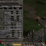 Using 8 computers in party with all 8 players in Blood Moor with another character (sharing EXP)