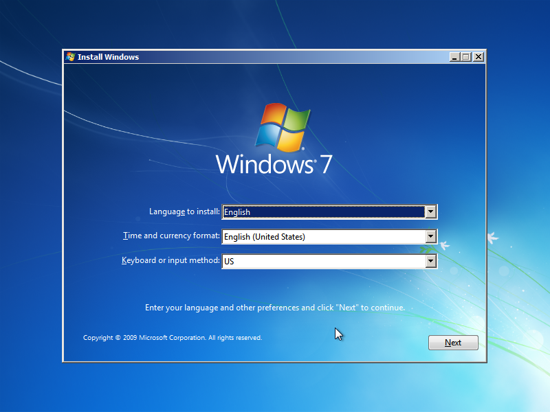 Windows 7 Install Guide (Image 1.3)