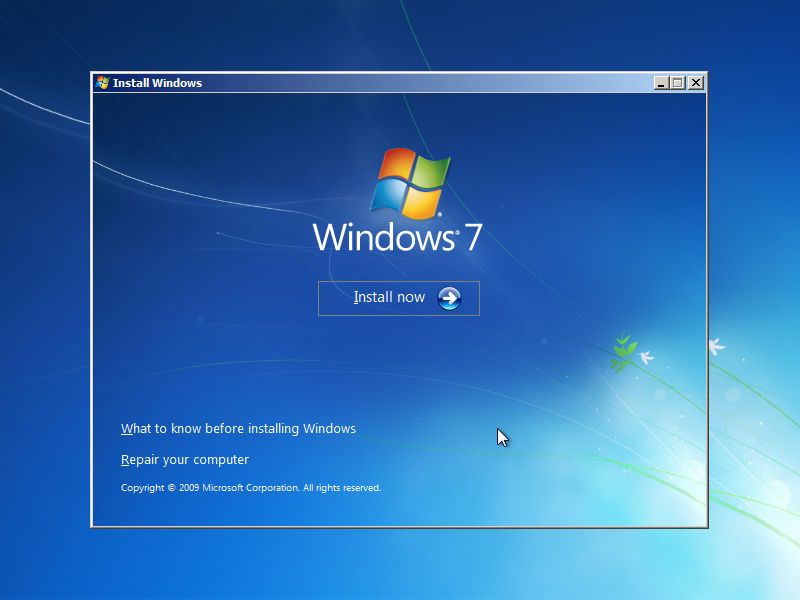 Windows 7 Install Guide (Image 1.4)