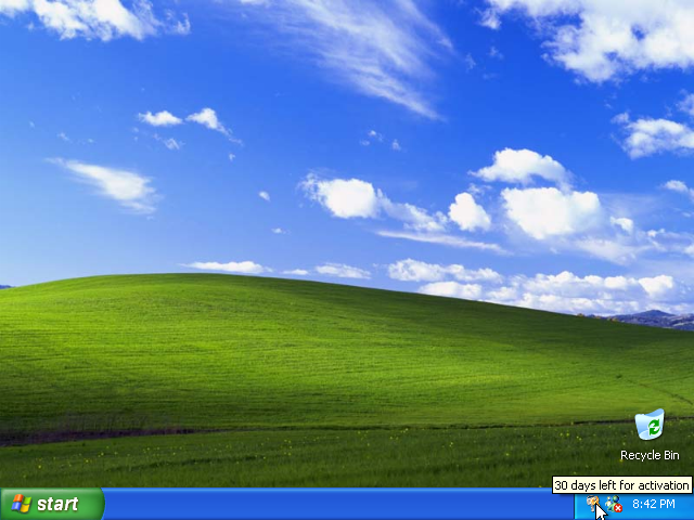 32) Activate: (Windows XP Home Install Guide Image 4.3)